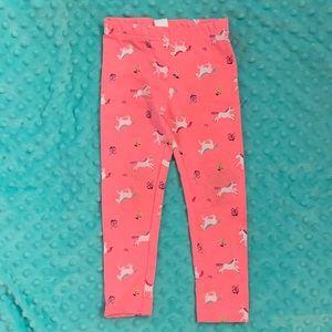 NWOT size 3T Carter's Unicorn leggings!